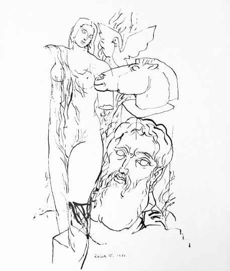 Reich Károly: A szobrász kertje V.