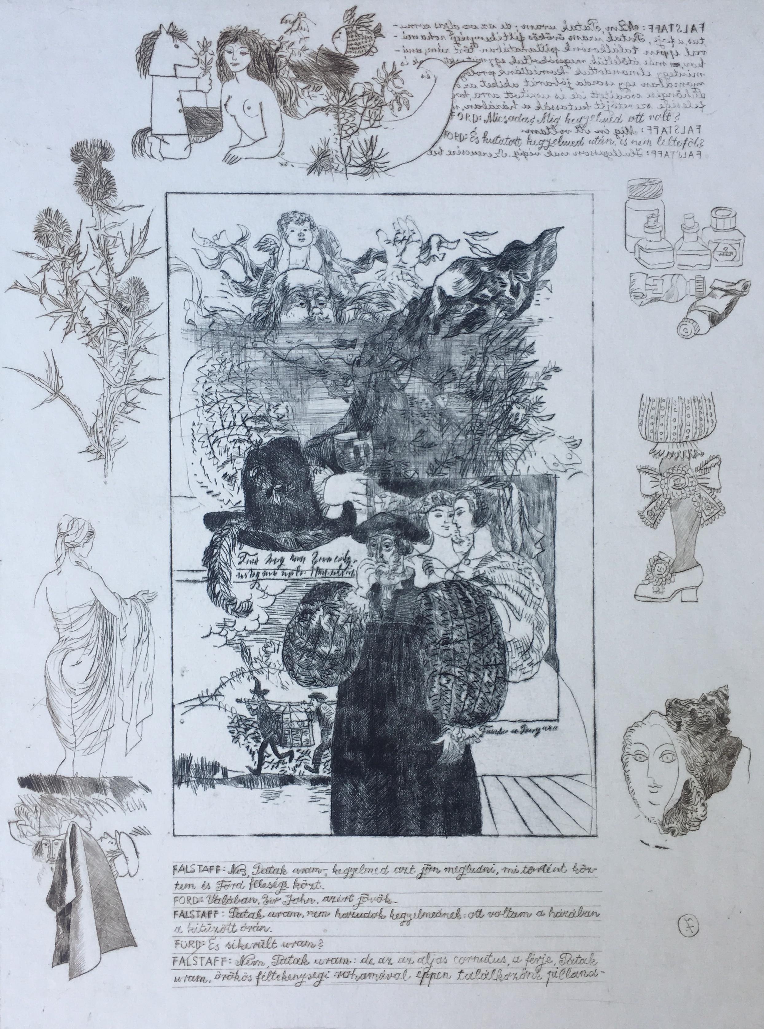 Reich, Károly: Shakespeare: Die lustigen Weiber von Windsor IV.