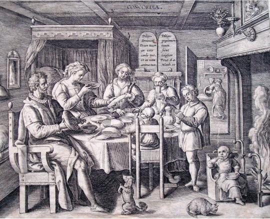 Crispijn van der Passe (id.): Concordia