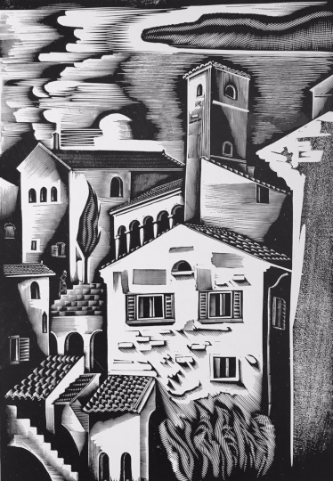 Molnár C. Pál: Olasz város