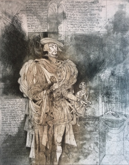 Kass János: Hamlet-Horatio