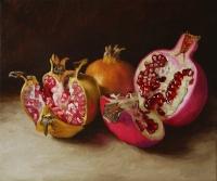 Szenteleki, Gábor: Three pomegranates