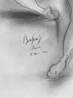Brassaï: Sitting nude
