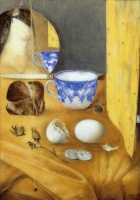 Hús, Zoltán: Still life with egg