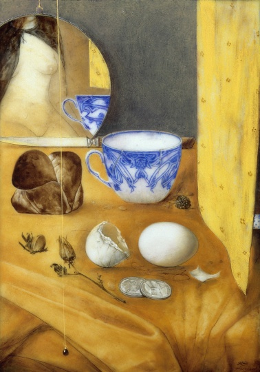 Hús Zoltán: Still life with egg