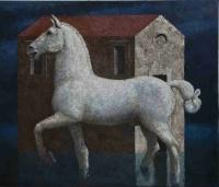 Brandes, Matthias: Weißes Pferd