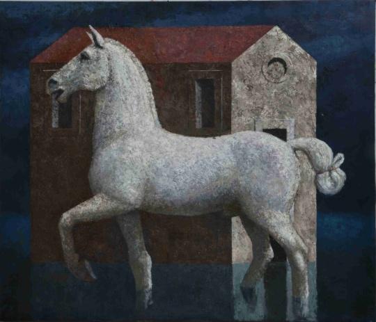 Brandes Matthias: Fehér ló