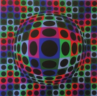 Vasarely, Victor: Geometrie I.