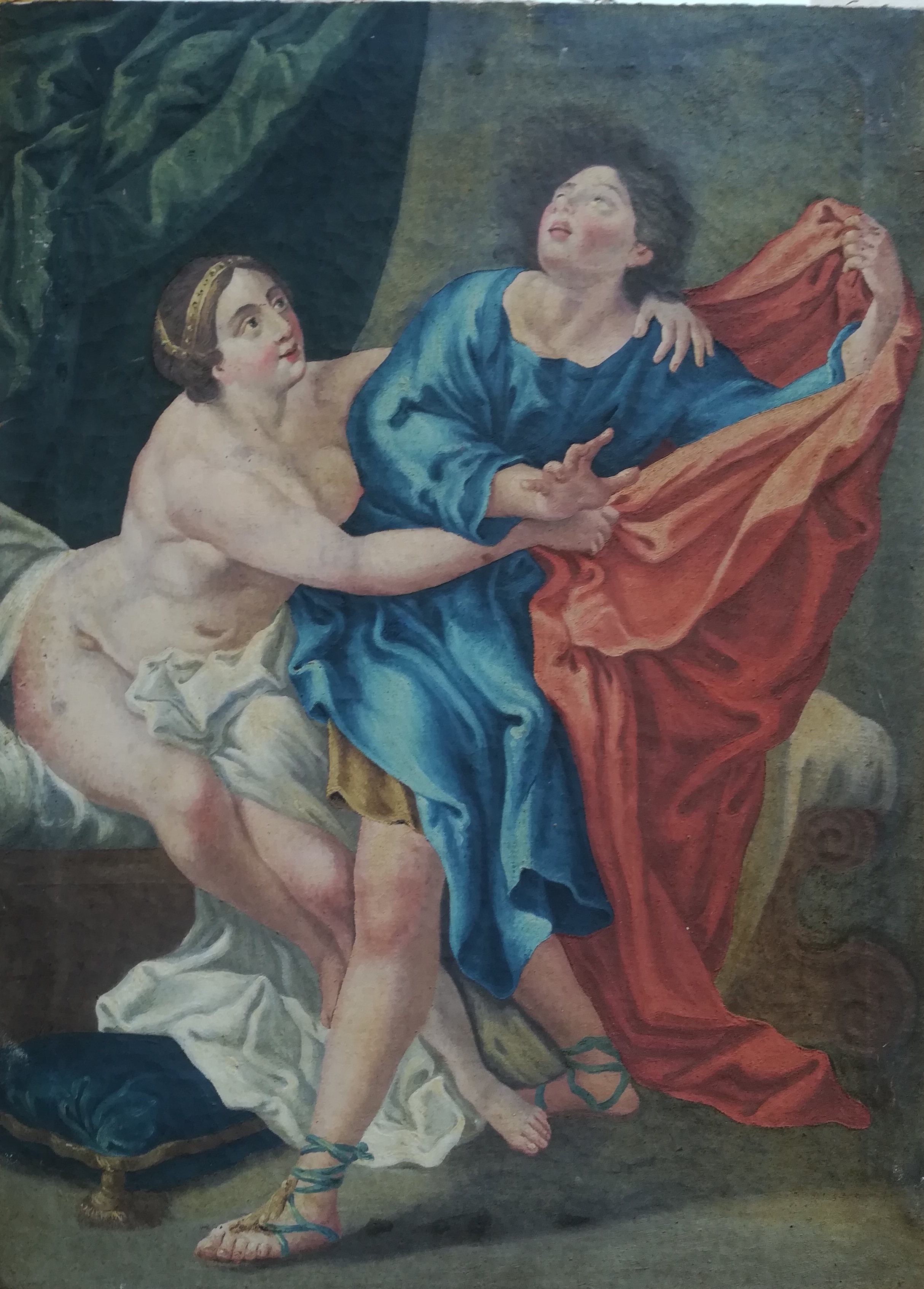 Carlo Cignani (after): Joseph and Potiphar's wife
