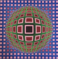 Vasarely, Victor: Komposition