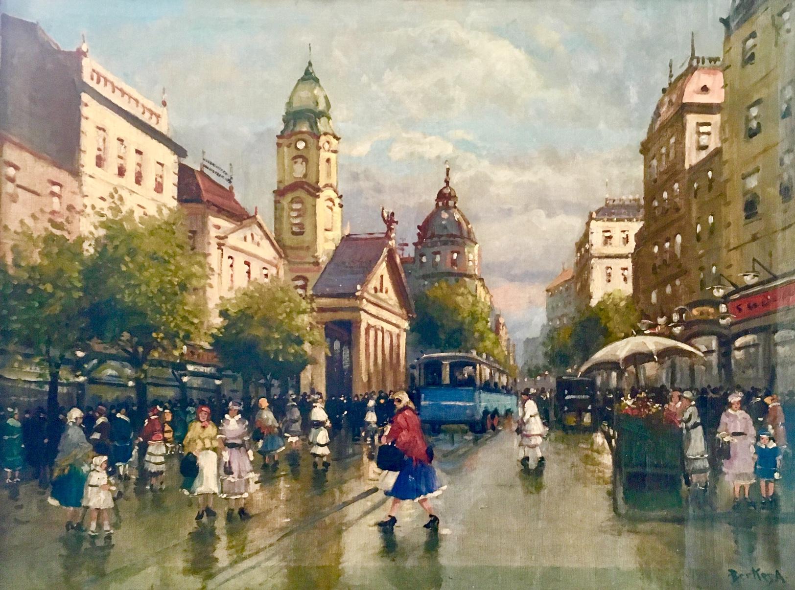 Berkes Antal: Séta Budapesten