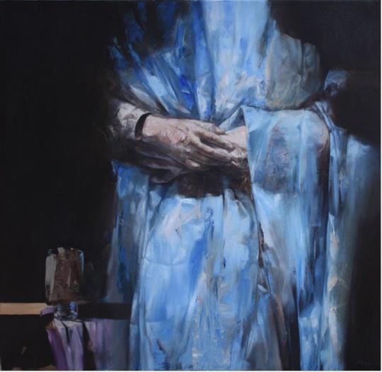 Incze Mózes: Kék ölelés