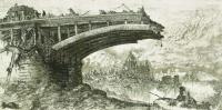 Takáts, Márton: Budapest, hommage á Piranesi, Margareth bridge
