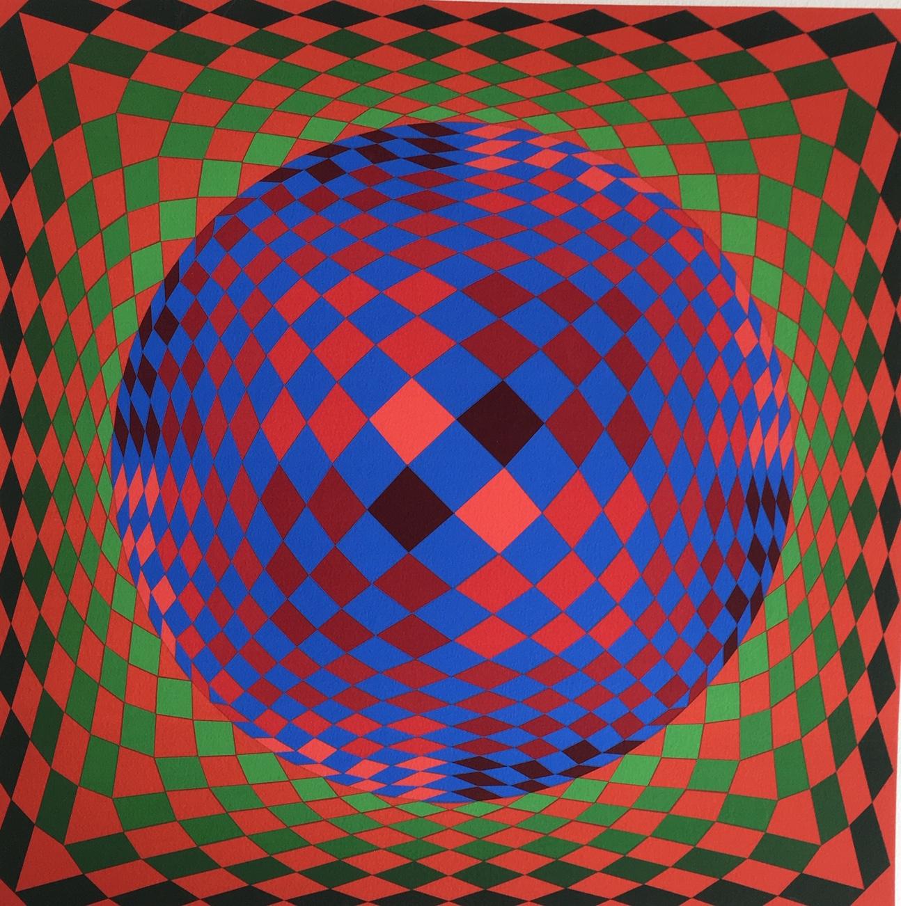 Victor Vasarely: Vega III