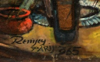 Remsey, Jenő György: Cafe in Paris