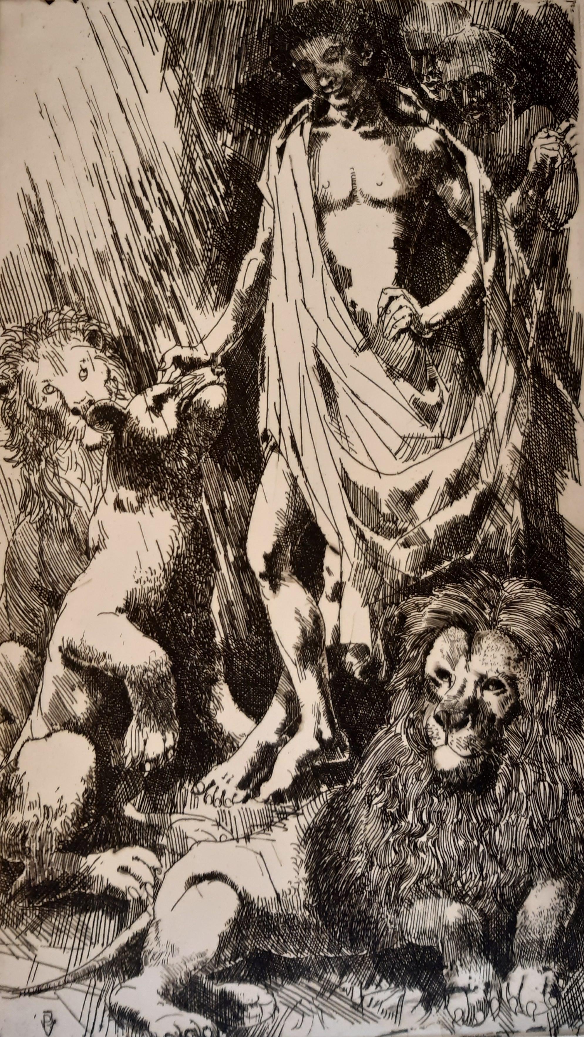Pituk, József V: Daniel in der Hohle