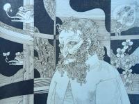 Szász, Endre: Man portrait