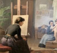 Csuzy, Károly: The bashful model