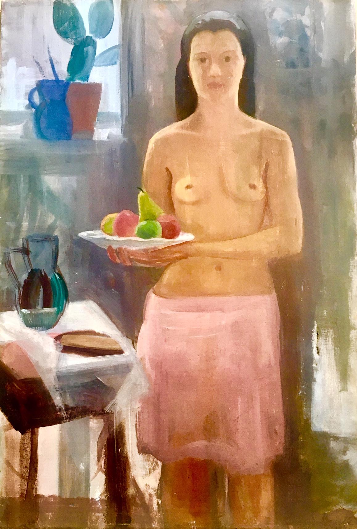 Basch Edit: Női akt gyümölcsökkel
