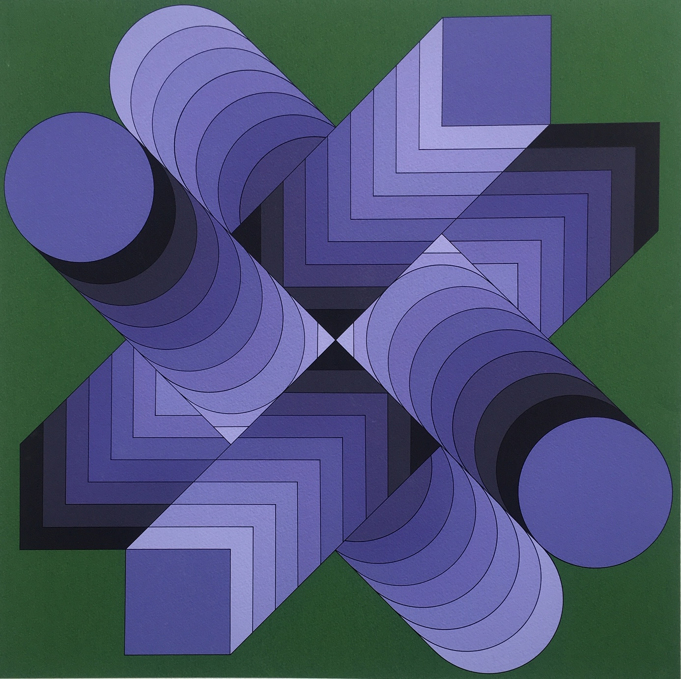 Vasarely, Victor: Optical composition (sees)