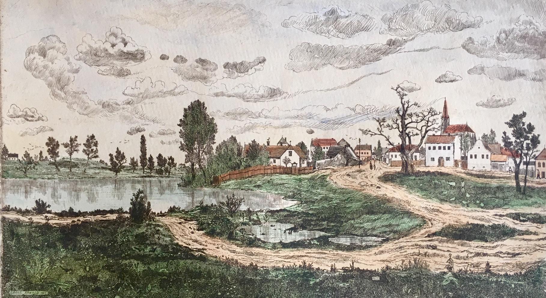 Gross, Arnold: Landscape
