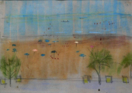 Mattioni Eszter: Strandélet Riminiben