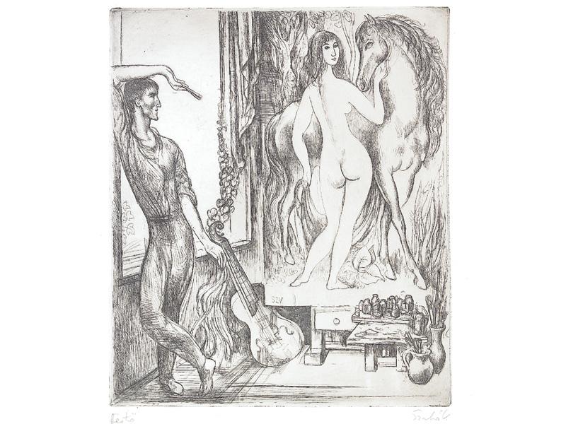 Szabó, Vladimir: The painter