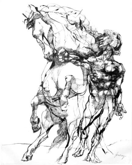 Szalay, Lajos: Horse-tamer