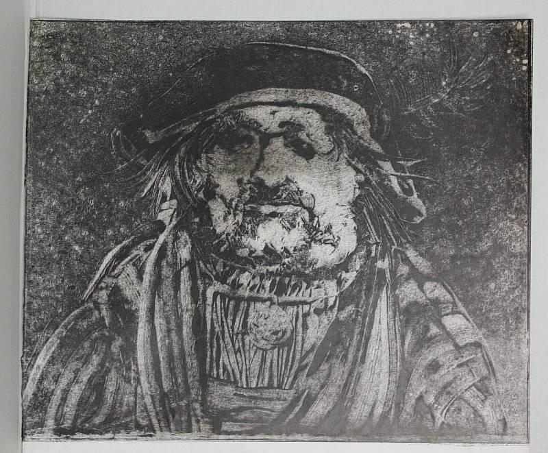 Szász Endre: Férfi portré