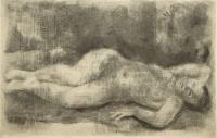 Szőnyi, István: Lying nude
