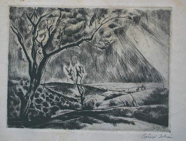 Szőnyi, István: After the storm