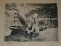 Szőnyi, István: Old fisherman