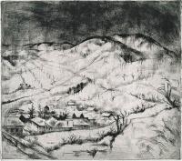 Szőnyi, István: Snow-bound village