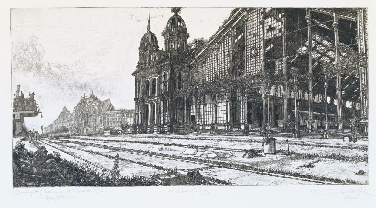 Takáts, Márton: Budapest, hommage á Piranesi, Westbahnhof