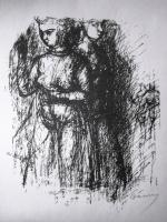 Barcsay, Jenő: Frauenfiguren