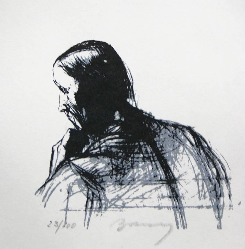 Barcsay, Jenő: Study of a man