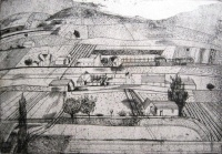 Barcsay, Jenő: Landscape in Badacsony